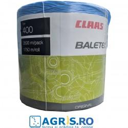Sfoara balotat 400 CLAAS BALETEX ALBASTRA - baloti patrati