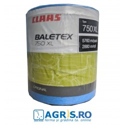 Sfoara balotat CLAAS BALETEX 750 XL ALBASTRA - baloti rotunzi