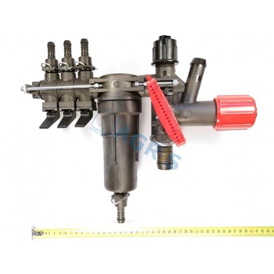 Distribuitor MET 3 cai / clapete Agroplast ERB057