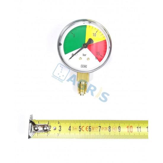 Manometru presiune cu glicerina pentru MET ERB082