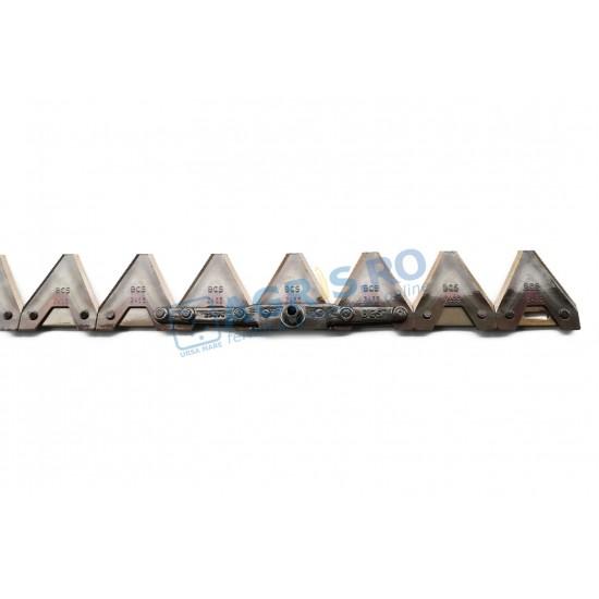 Lama BCS SF 622 - 1.3m 17 dinti - prindere laterala 59020716T